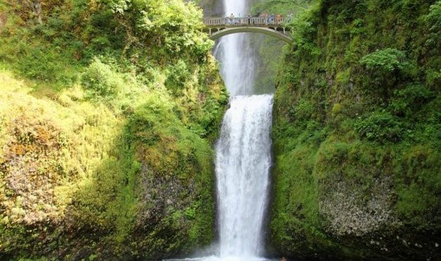 PDX to Multnomah Falls